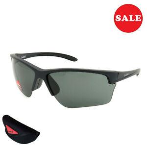 Bollé Flash Men's Sunglasses Cycling Glasses Rimless Black 12205 Size M - Sale