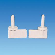 Carver Crystal Mk2 Retaining Pegs - IVORY -  Filtapac Water Inlet Retaining Pegs