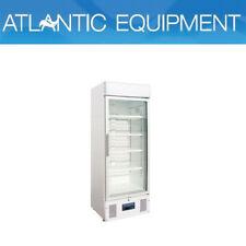 Refrigerated Upright Display Fridge Glass Door 218Lt Polar Restaurant Bar Cafe