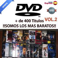 Peliculas DVD PRECINTADAS. Ediciones Españolas. Mas de 400 Titulos!! DVD. VOL 2