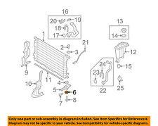 AUDI OEM 11-17 Q5 2.0L-L4 Radiator-Lower Mount Insulator 4H0121268