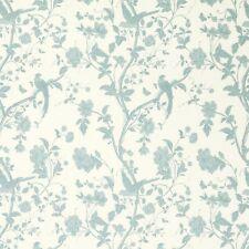 Laura Ashley Fabrics 4 Meters Summer Palace Duckegg Off white Price Per Meter