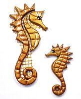Mosaiksteine - Seepferdchen - Farbe: gold/braun -Grösse: mini oder mittel