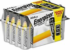 24,2,48 TUB ENERGIZER AAA ALKALINE INDUSTRIAL BATTERIES LONG EXP FAMILY PACK LOT