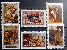 RWANDA 1969-70: World Famous Paintings , Set of 6