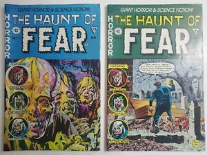 The Haunt of Fear #'s 1-2 Complete Gladstone EC Reprints! 64 Pages! (1991)
