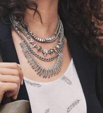Stella & Dot Pave Amelia Sparkle Versatile Silver Necklace Brand New RRP £126