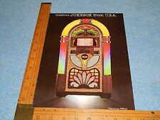 1987 Antique Aparatus Rb-2 Rainbow 45 Rpm Advertising Flyer