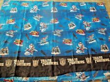 TRANSFORMERS Optimus Prime Twin Size Sheet Flat Blue Black FREE SHIPPING!!