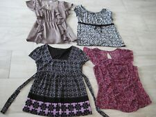 Women's Clothes Lot 4 Summer tops/blouses Large Dressy tops
