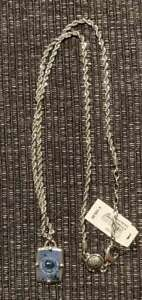 Diesel Men's Tag Stainless Steel Necklace New RRP £100.00