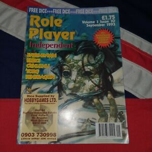 Role Player Independent Magazine Vol 1 10 1993 Jack The Ripper Call of Chulhu
