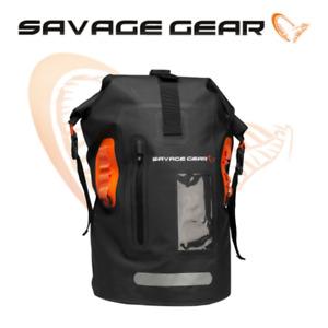 Savage Gear Waterproof Rollup Rucksack 40L Pike Perch Bass Lure Fishing Luggage
