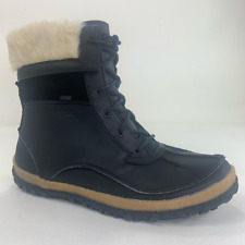 Merrell Womens Tremblant Mid Polar Winter Boots Black Leather Lace Up 10 New