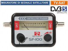 MISURATORE DI CAMPO INDICATORE DI SEGNALE ANALOGICO TV SATELLITARI SAT FINDER