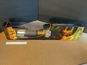 Star Wars Motion Activated Luke Skywalker Electronic LightSaber New 2005