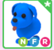 Neon Fly Ride NFR Blue Dog Roblox Adopt me