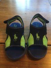Boys Ralph Lauren Sandals Size 7.5 Infant