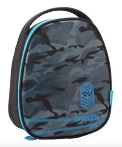 Smash Camo Insulated Lunch Bag Blue/Grey/Black