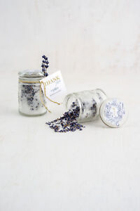Mason Jar with Lid Glass Flower Patterned Pack of 6