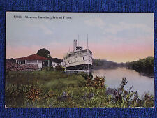 Isle of Pines Cuba/Steamer Cristobal Colon at Landing/Printed Color Photo PC
