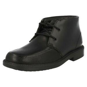 Boys Clarks Smart Boots 'Deon Top'
