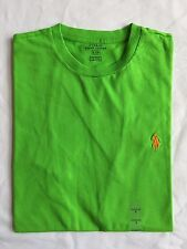 NWT Men's Polo Ralph Lauren SS Crew Neck Classic Fit T-Shirt Racing Green  Small
