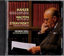 MAHLER symphony no.10 STRAVINSKY firebird suite SZELL SUPER AUDIO SACD WALTON