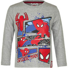 Camisa Suéter Niños Spiderman Jersey Turquesa Amarillo Gris 98 104 116 128 #53