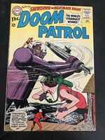 DC Comics Doom Patrol #93 (1965) Silver Age Showdown On Nightmare Road!