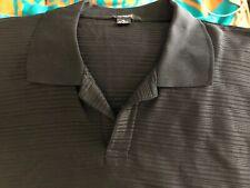 Alfani Black Short Sleeved Mens Size XL Stretch Shirt