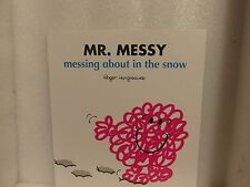 Large Size Mister Men Book MR MESSY MESSING ABOUT IN THE SNOW