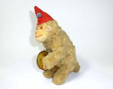 mechanisches Spielzeug Affe Plüschaffe 1950er Jahre Max Carl