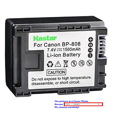 Kastar Replacement Battery for Canon BP-808 CG-800 & Canon FS300 Camcorder