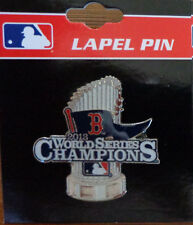 Lapel Pin MLB World Series Trophy Champions 2013 Boston Red Sox Official License