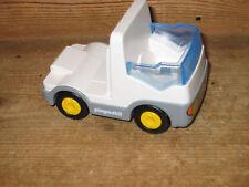 2007 Playmobil 123 Camion Van Lit Plat Cab véhicule à moteur pushalong Play Figure
