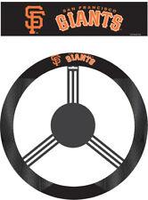 San Francisco Giants Steering Wheel Cover MLB Baseball Team Logo Poly Mesh