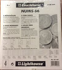 Lighthouse Numis  66mm  coin pages-Pack of 5