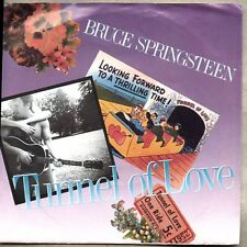 "VINYL 45 7"" & Picture Sleeve Bruce Springsteen - Tunnel of Love Two For The Road"