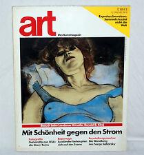 art - Das Kunstmagazin - Mai 1988