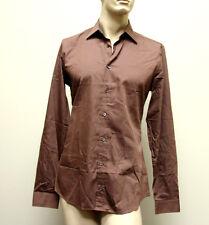 $510 NEW Authentic GUCCI Mens Cotton/Silk Dress Shirt 43/17, Slim, 269067 2261