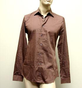$510 New GUCCI Men's Cotton/Silk Slim Fit Dress Shirt 41/16 269067 2261