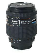 Nikon Nikkor D-AF 28-105mm / 28-105 / F/3.5-4.5 AF-D D IF AF Lens