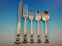 Romance of the Sea by Wallace Sterling Silver Flatware Set for 12 Service 60 pcs