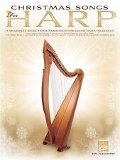 Christmas Songs for Harp Sheet Music Folk Harp Book NEW 000131460