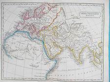 Map of Ancient World. 1826. Orbis Notus. ROMAN. Butler.