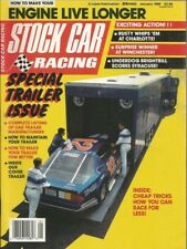 STOCK CAR RACING 1989 JAN - BODINE, SCHRADER, WALLACE