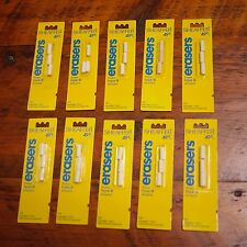 Set of 30 Vintage NEW Deadstock SHEAFFER Type U Pencil Erasers USA Made
