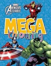 Marvel Avengers Super Heroes Mega Colouring Book hulk iron man captain America