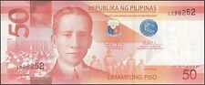 TWN - PHILIPPINES 207d - 50 Piso 2014 UNC - Prefix L